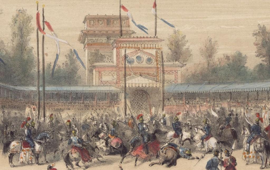 Le camp du drap d'or - Spectacle historique à l'Hippodrome de la place de l'Etoile.