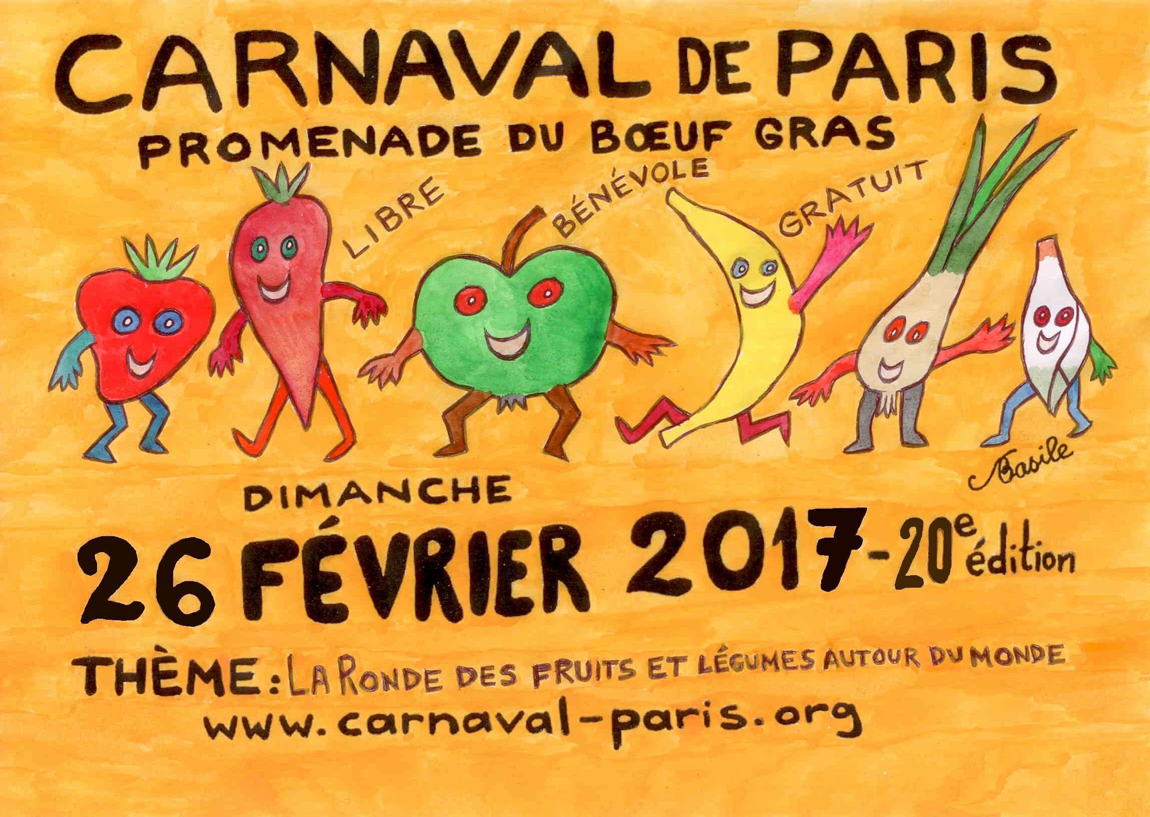 Apr s la r ussite en 2016 pr parons le carnaval de paris 2017 carnaval de paris 2018 - Carnaval de paris 2017 ...