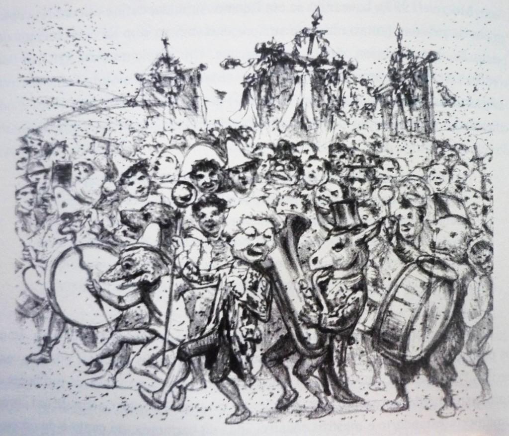 Carnaval de Rio - Don Quixote - ano 8, n°146, p. 8, 31 janvier 1907