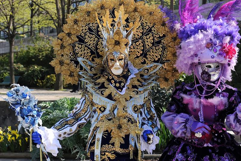 Carnaval de Venise à Paris 2010 - Photo Claude Colom - Reçue le 24 août 2016