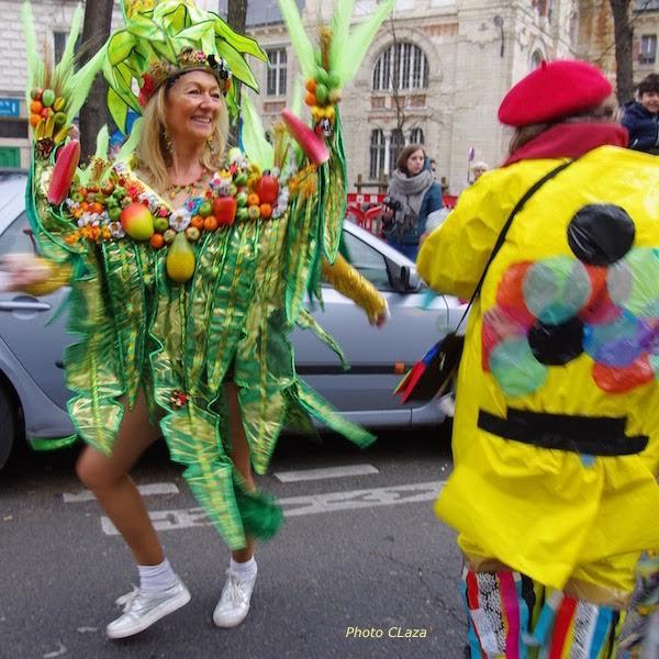 Le carnaval de paris 2017 vu par colette lazarewitch - Carnaval de paris 2017 ...