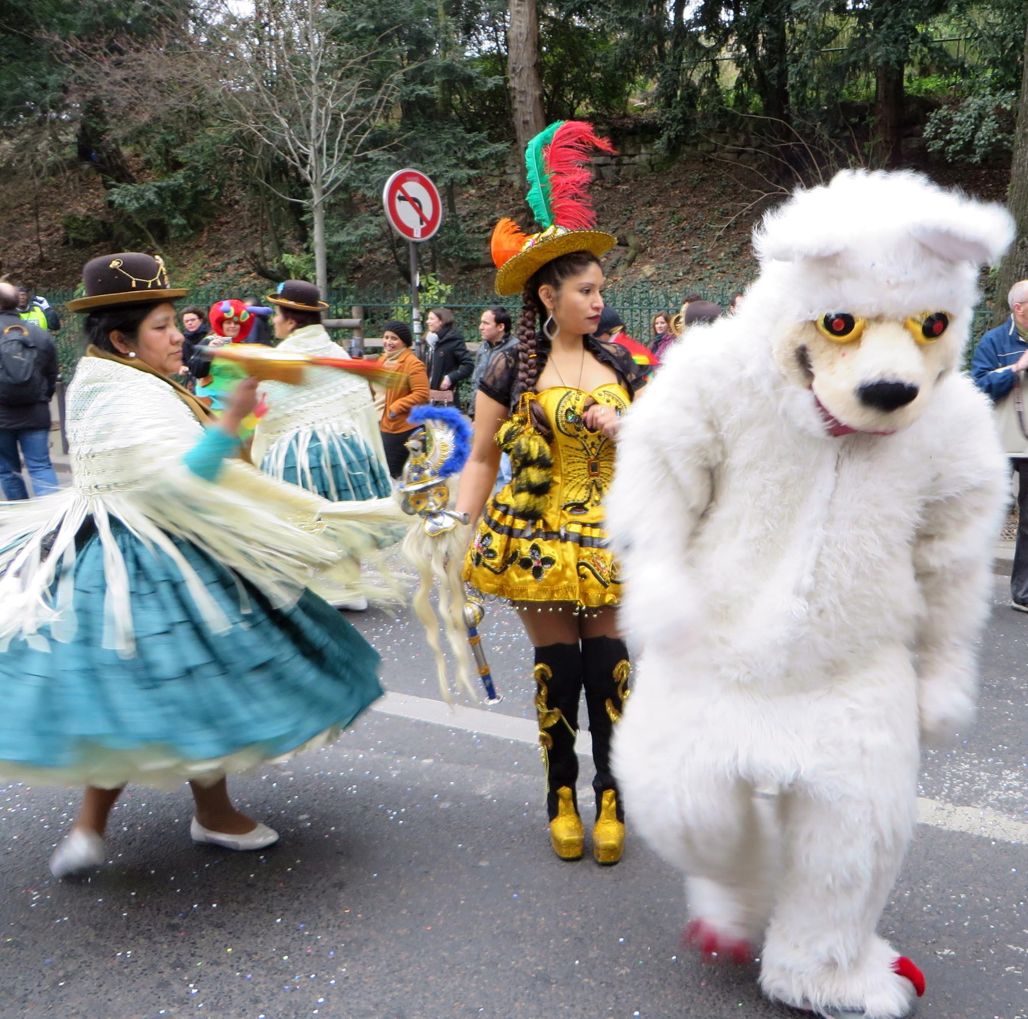 24 photos du carnaval de paris 2017 faites par josette - Carnaval de paris 2017 ...