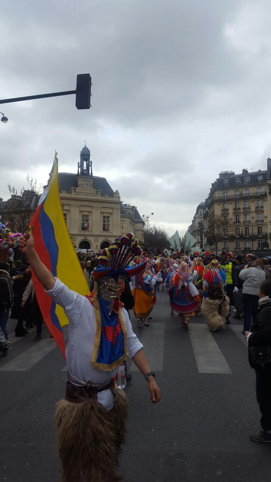 L quateur pr sent au carnaval de paris 2017 carnaval - Carnaval de paris 2017 ...