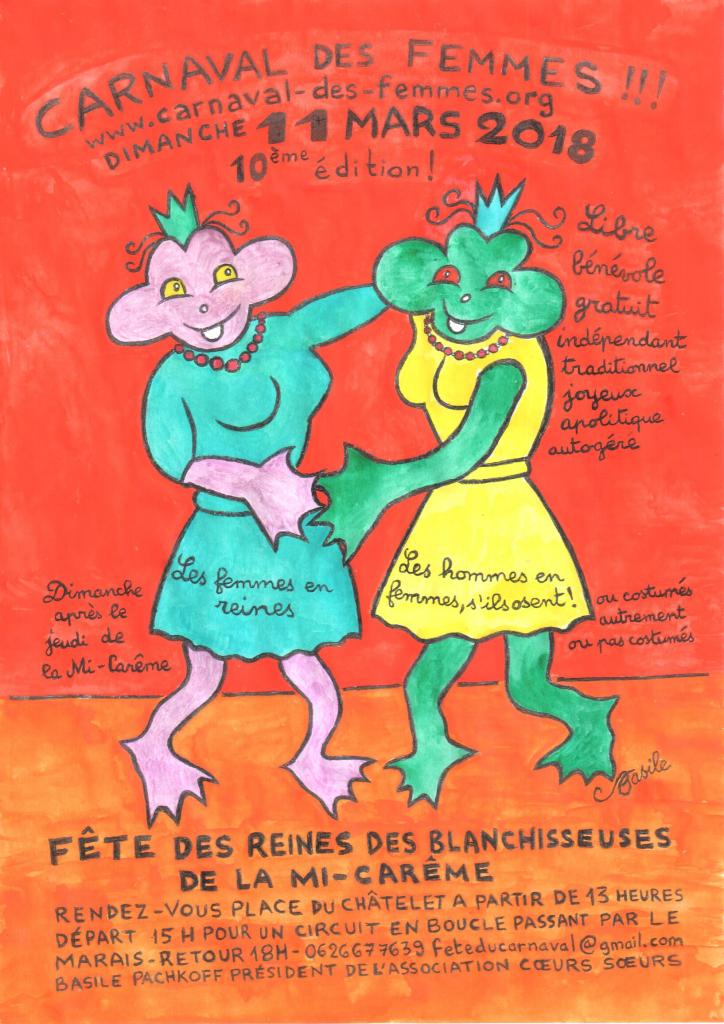 3 - AFFICHE CARNAVAL DES FEMMES 2018