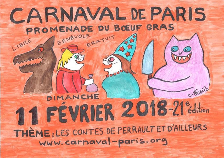 PANONCEAU CARNAVAL DE PARIS 2018