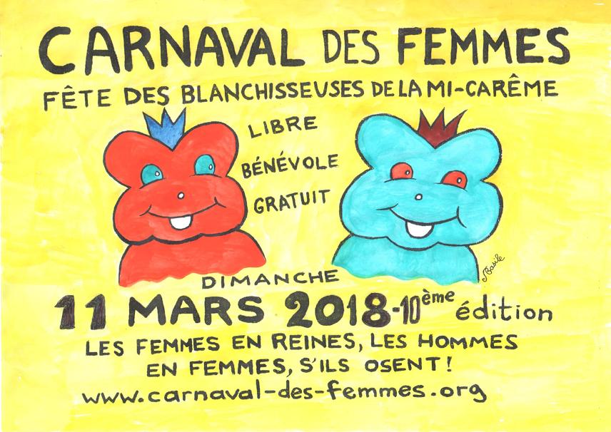 PANONCEAU CARNAVAL DES FEMMES 2018